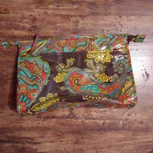 Kate Spade travel/cosmetic bag
